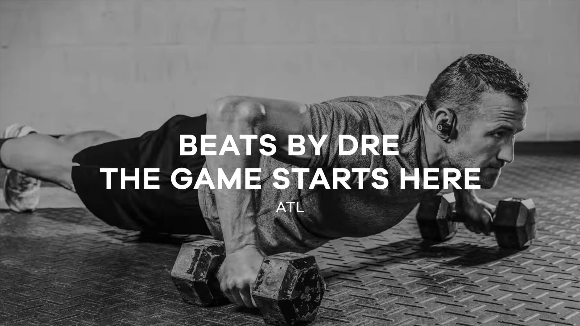 Beats By Dre<br/>The Game Starts Here