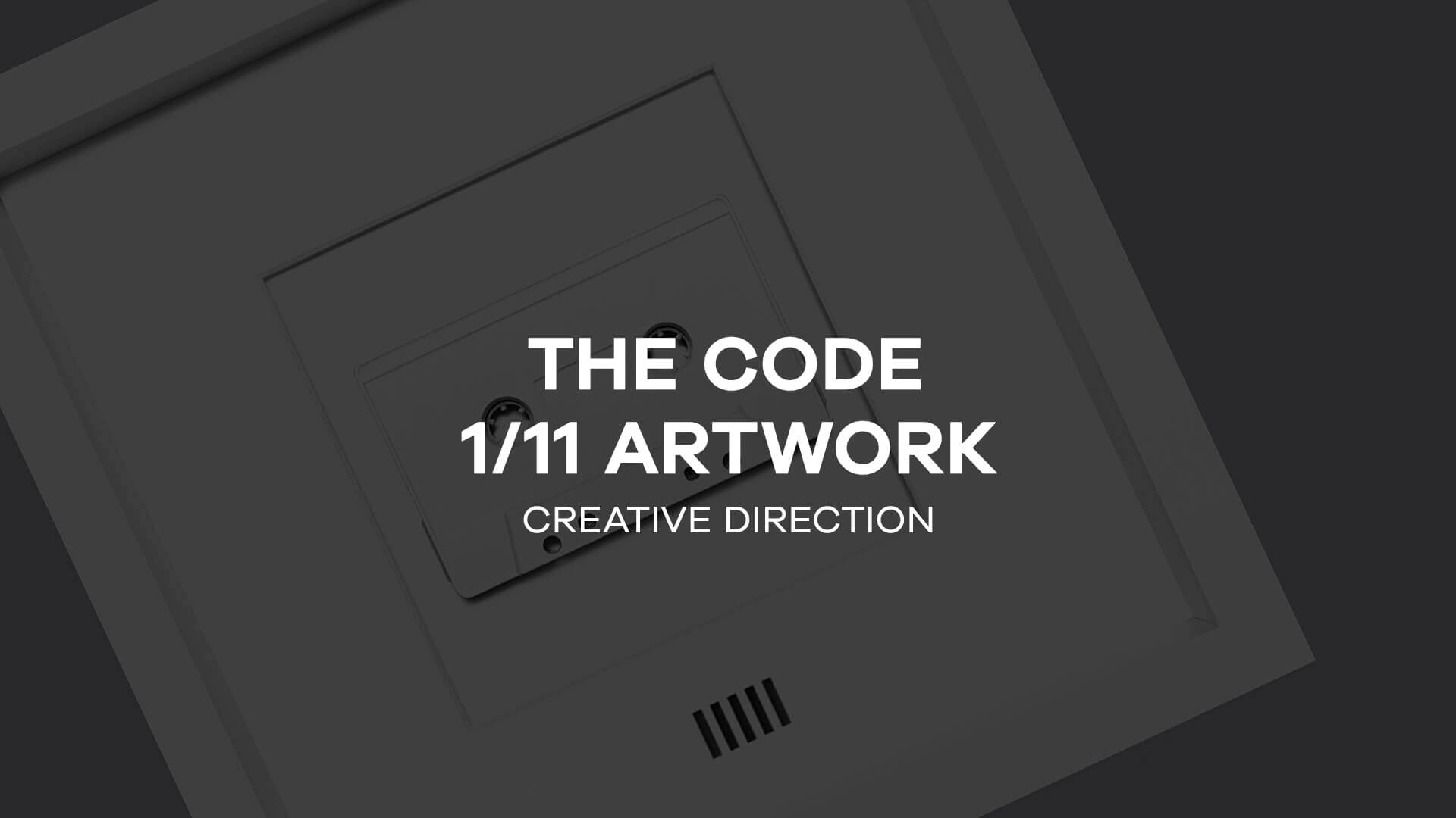 The Code</br>1/11 Artwork