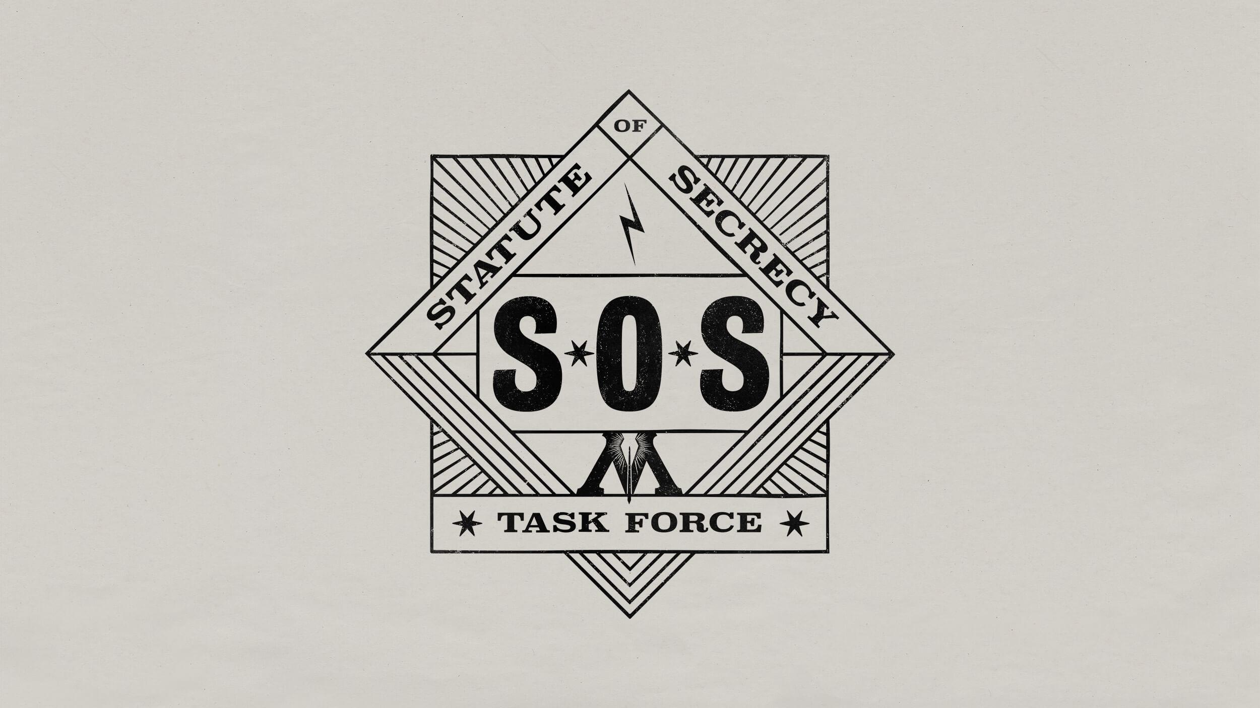 Wizard Unite SOS logo